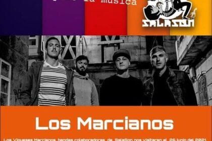 Los Marcianos en la Sala Son (Cangas de Morrazo)